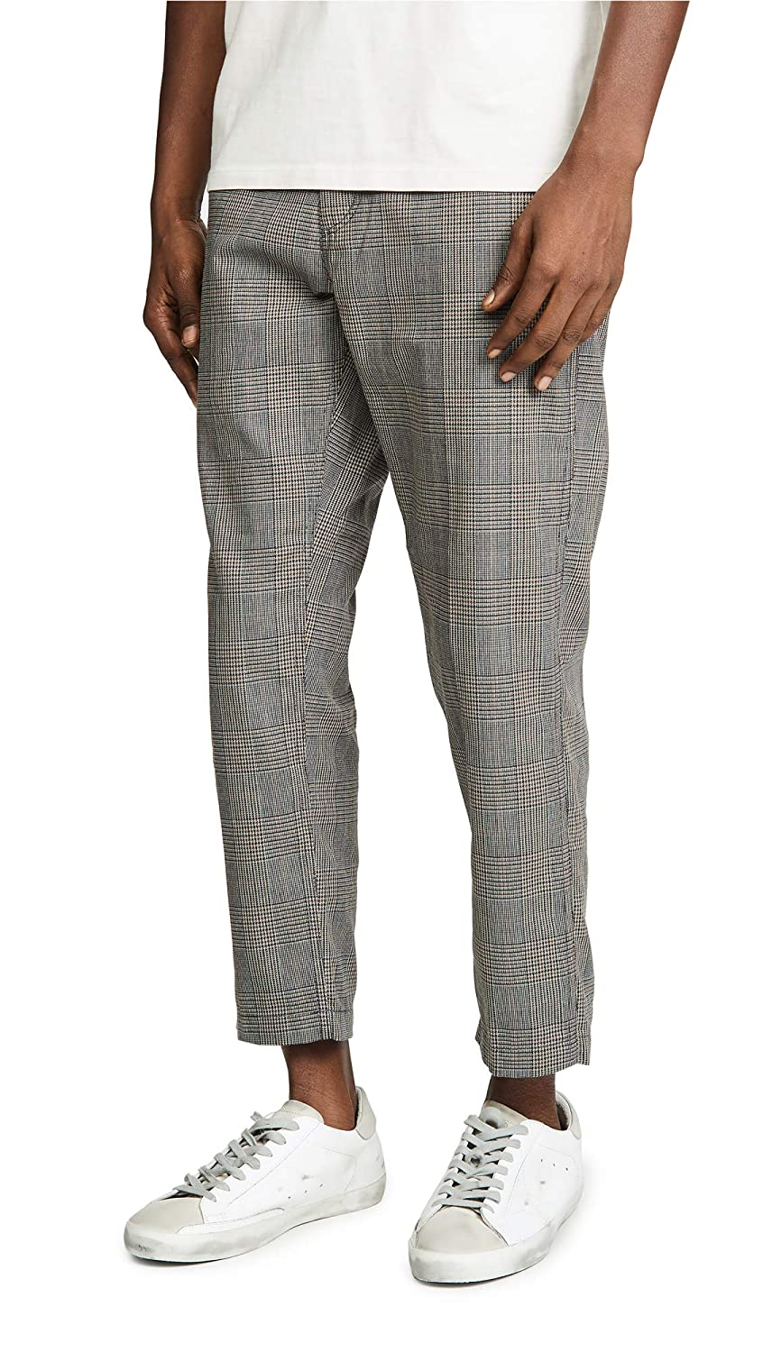 Obey Men's Straggler Plaid Carpenter Pant 142020123