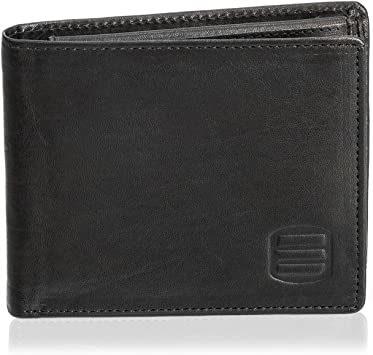 Bi-Fold Genuine Leather Mens Wallet