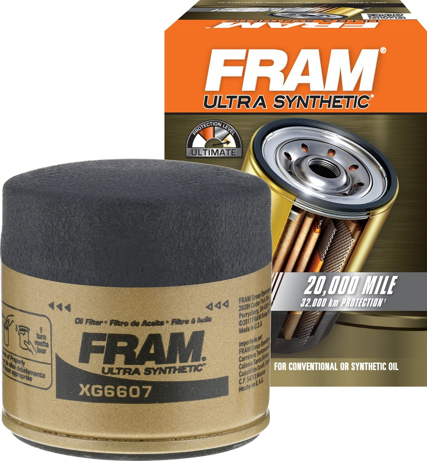 Ultra Synthetic Spin-On Oil Filter