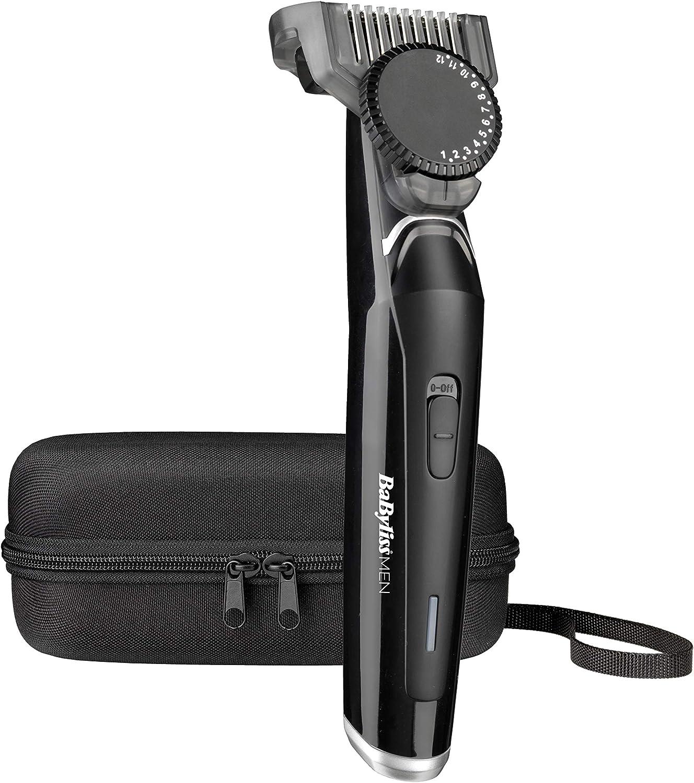BaByliss MEN T881E Barbero eléctrico, recortadora de barba masculino, uso con/sin cable, 23 longitudes de 0.5 a 12 mm y 60 minutos de autonomía, neceser.: Amazon.es ...