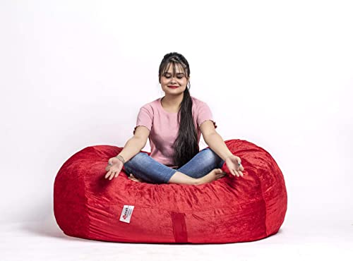 4 ft Bean Bag Chair Cover Only - a good cheap bean bag chair