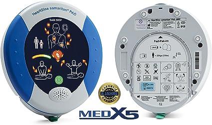 Desfibrilador semiautomático MedX5 PAD500P