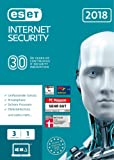 ESET Internet Security 2018 | 3 User | 1 Jahr Virenschutz | Windows (10, 8, 7 und Vista) | Download