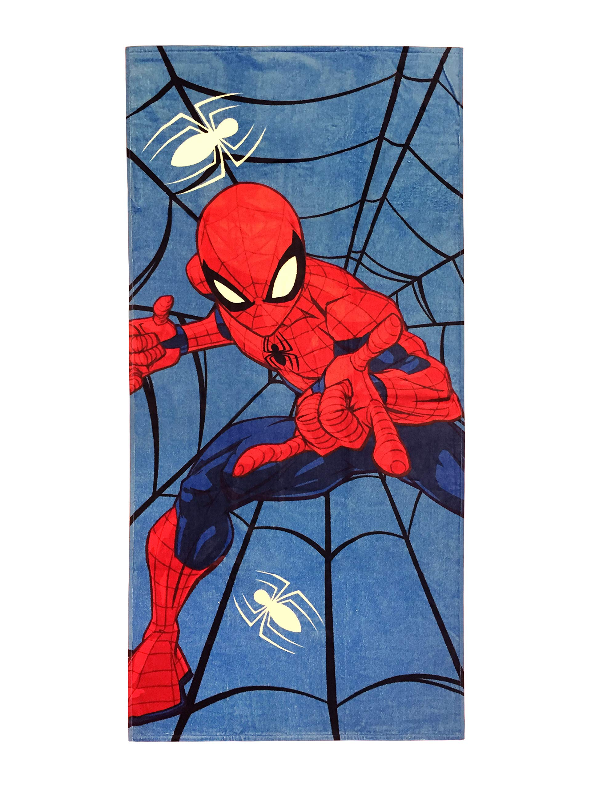 Spiderman Cotton 28''x58'' Beach Towel Sunglasses for Kids by Spiderman (Image #2)