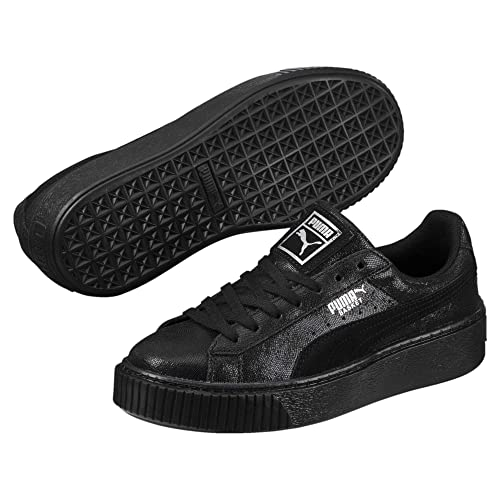 d349502ec0630 Puma Women's Basket Platform Core Low-Top Sneakers
