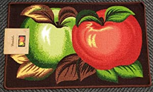 THE RAISE Kitchen Rug, Kitchen Mat, Printed Kitchen Rug (nonskid Back) (18