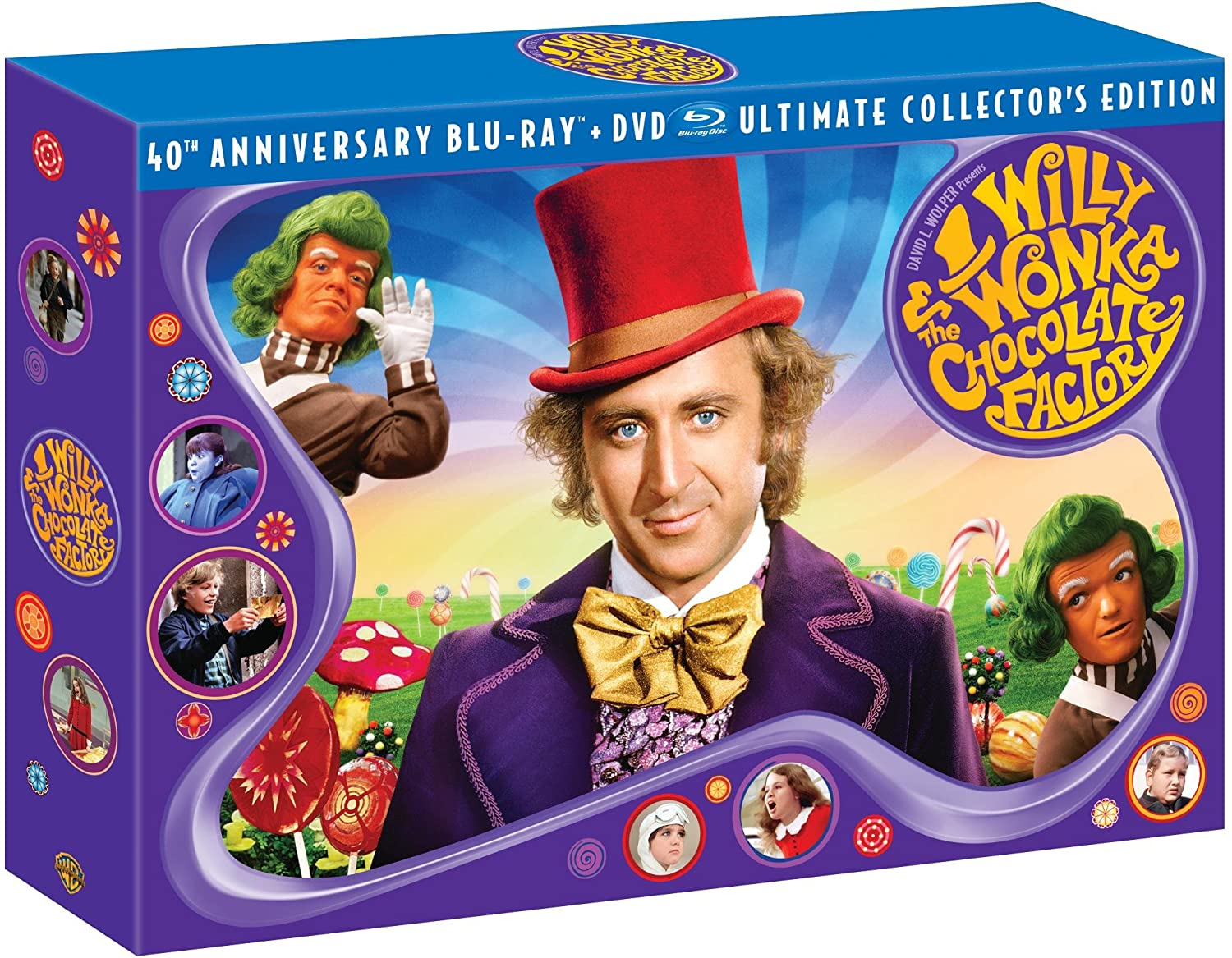 Amazon.com: Willy Wonka & the Chocolate Factory (Three-Disc 40th ...