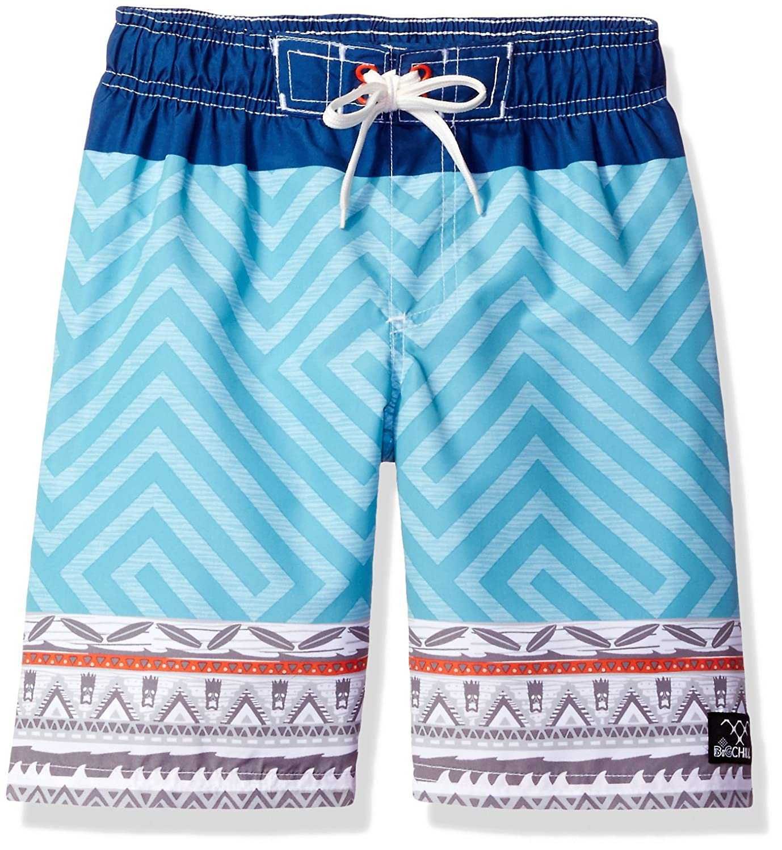 Big Chill boys Tribal Geo Print Swim Trunk 89137