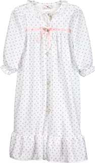 product image for Laura Dare Little Girls Rosebud Jersey Traditional Sleep Robe, 2t - 6X