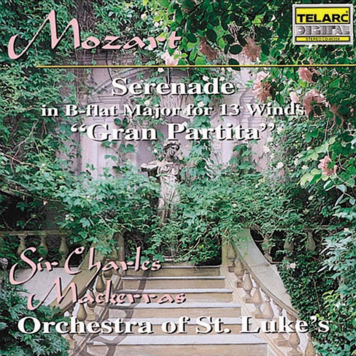 "Wolfgang Amadeus Mozart, Charles Mackerras, Members of the Orchestra of St.  Luke's - Mozart: Serenade in B-flat Major for 13 Winds ""Gran Partita"" -  Amazon.com Music"