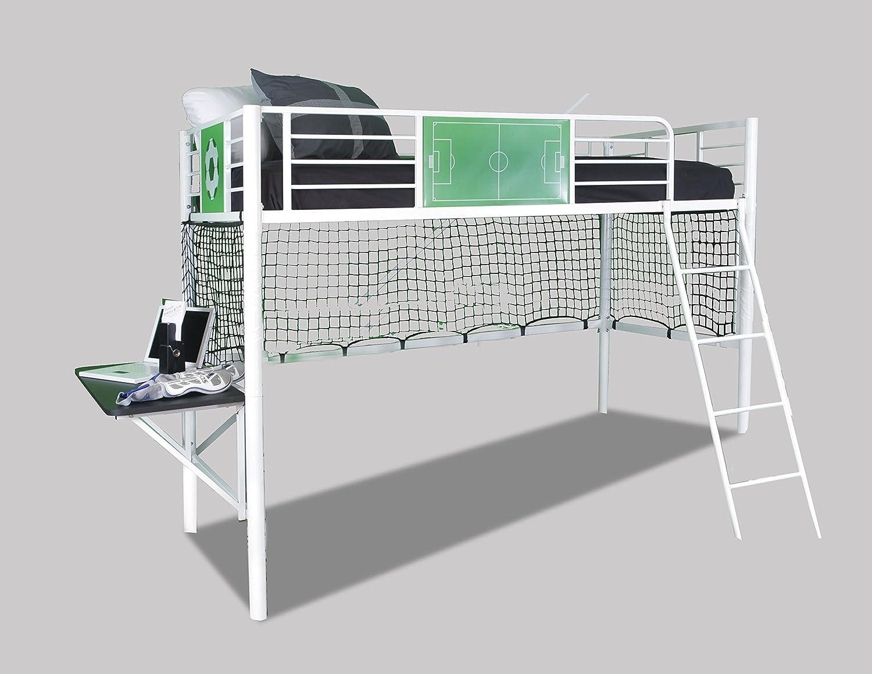 Powell 14Y2015LB Goal Keeper Loft Bed, Twin