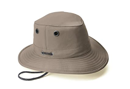 Image Unavailable. Image not available for. Color  Tilley LT5B Lightweight  Nylon Hat Taupe ... cf88fee453c6