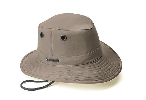 0344babde71 Amazon.com  Tilley LT5B Lightweight Nylon Hat Taupe 71 8  Sports ...