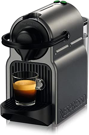 barco de EEUU) Titan c40-us-ti-ne Nespresso Inissia – Cafetera de espresso, Titan marca nuevo./número de artículo # 8y-ifw81854253399: Amazon.es: Hogar