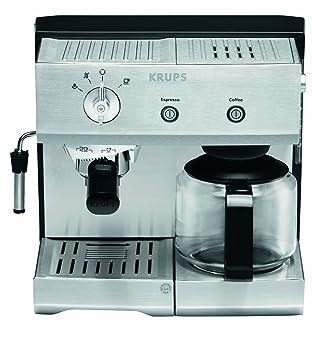 Krups XP2240, Acero inoxidable, 1400 W - Máquina de café: Amazon.es: Hogar