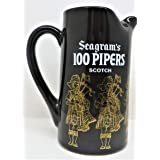 Seagrams 100 Pipers Blended Scotch Whiskey Pitcher