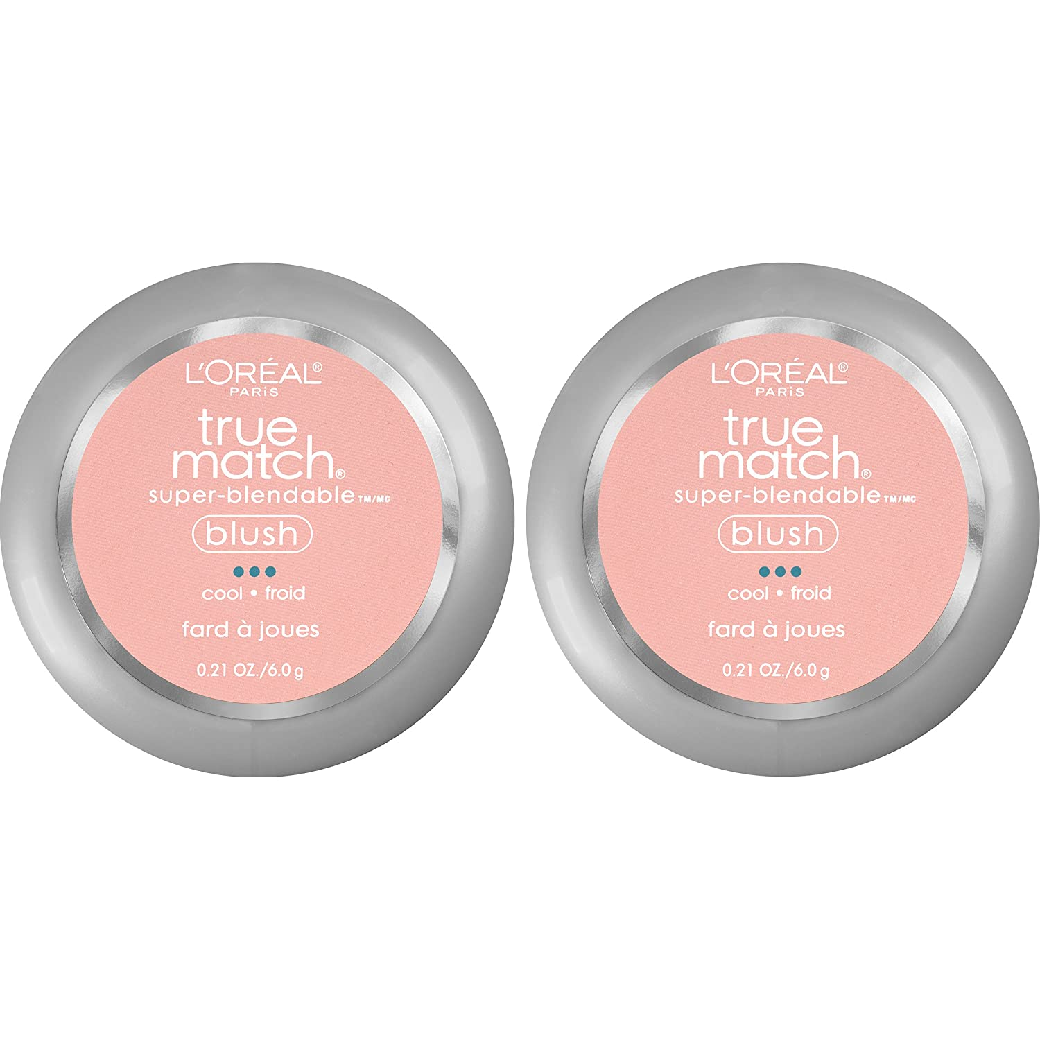 L'Oréal Paris True Match Super-Blendable Blush, Rosy Outlook, 0.21 oz. L' Oreal Paris Cosmetics