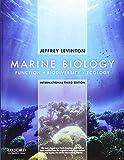 Marine Biology: International Edition: Function, Biodiversity, Ecology