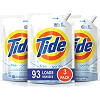 3 x 3-Pack Tide Smart Pouch Free & Gentle HE Liquid Laundry Detergent