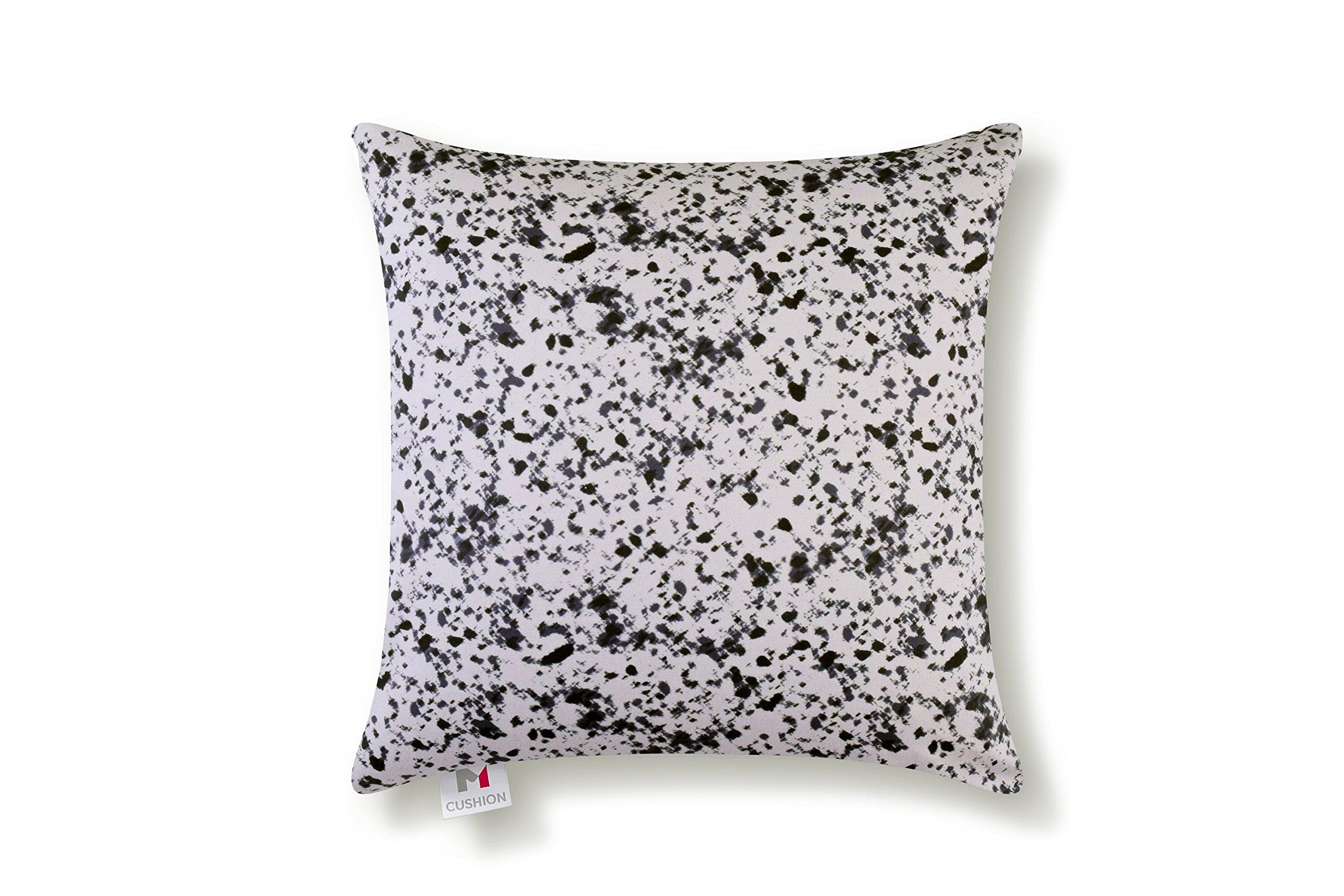 M Cushion 18'' Premium Plus Massage Cushion Shiatsu, Grey Granite