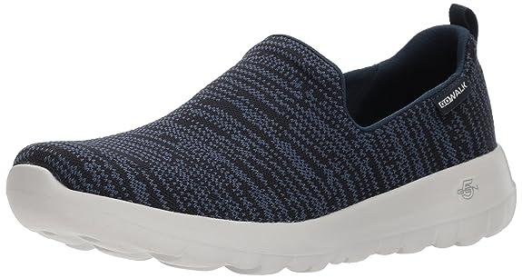Skechers Go Walk Joy-Gratify, Sneaker Infilare Donna, Nero (Black), 38 EU