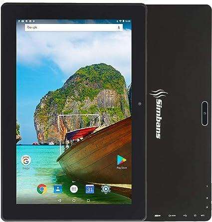 3 Bonus Item] Simbans TangoTab Tablet de 10 Pulgadas, 2 GB RAM, 32 GB Disco, Android