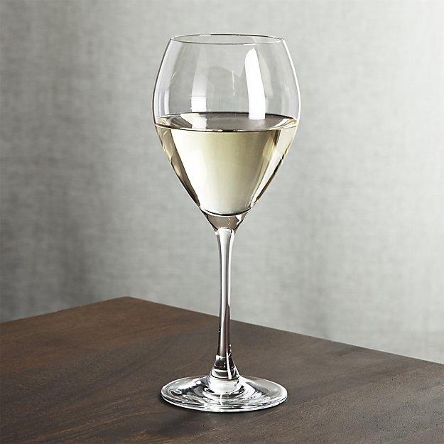 Silhouette White Wine Glass | Crate and Barrel