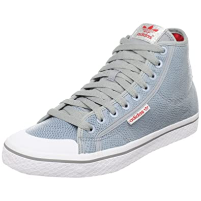 online retailer 9cf83 3ac72 adidas Originals Women s Honey Mid Sneaker,Metallic Silver Metallic  Silver Radiant Red,