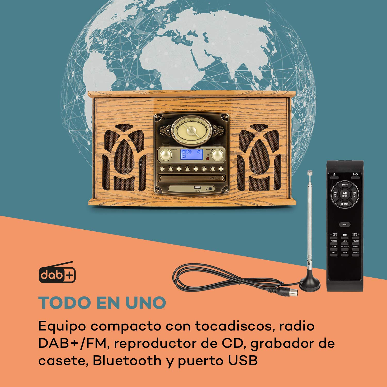 auna NR-620 Dab Equipo estéreo: Amazon.es: Electrónica