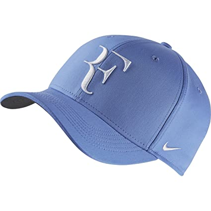 b9791225892 Amazon.com   NIKE RF HYBRID CAP (ADULT UNISEX) (Polar Flint Grey ...