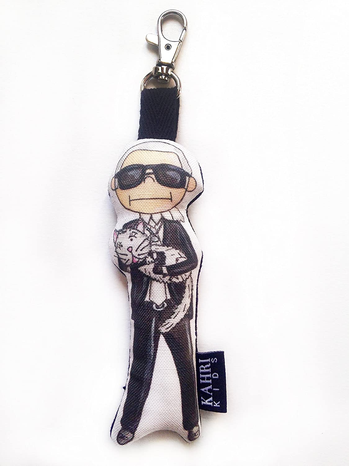 Mini Karl Lagerfeld Doll Bag Charm