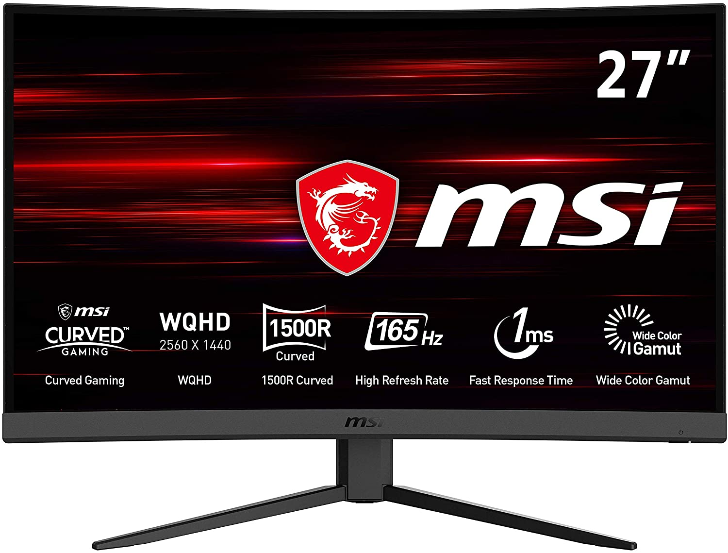 MSI Optix G27CQ4 - Monitor Gaming Curvo 27