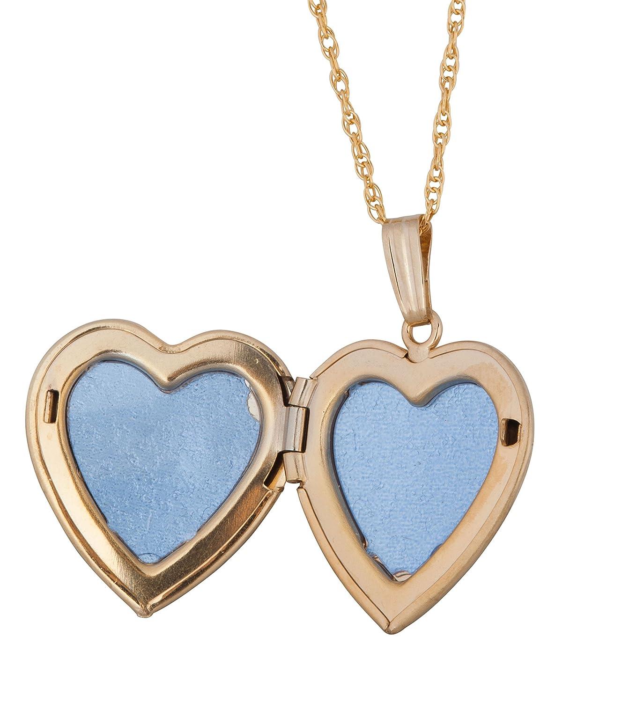 Black Hills Gold Heart Picture Locket