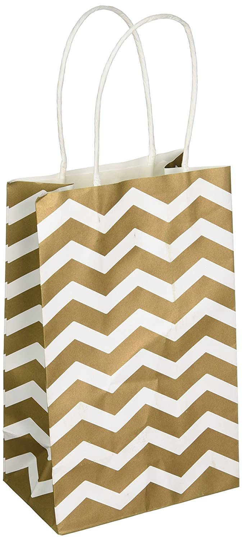 amscan 165090-19 21 x 13 x 9 cm Chevron Paper Gift Bags Amscan Internatinal Ltd 165090.19