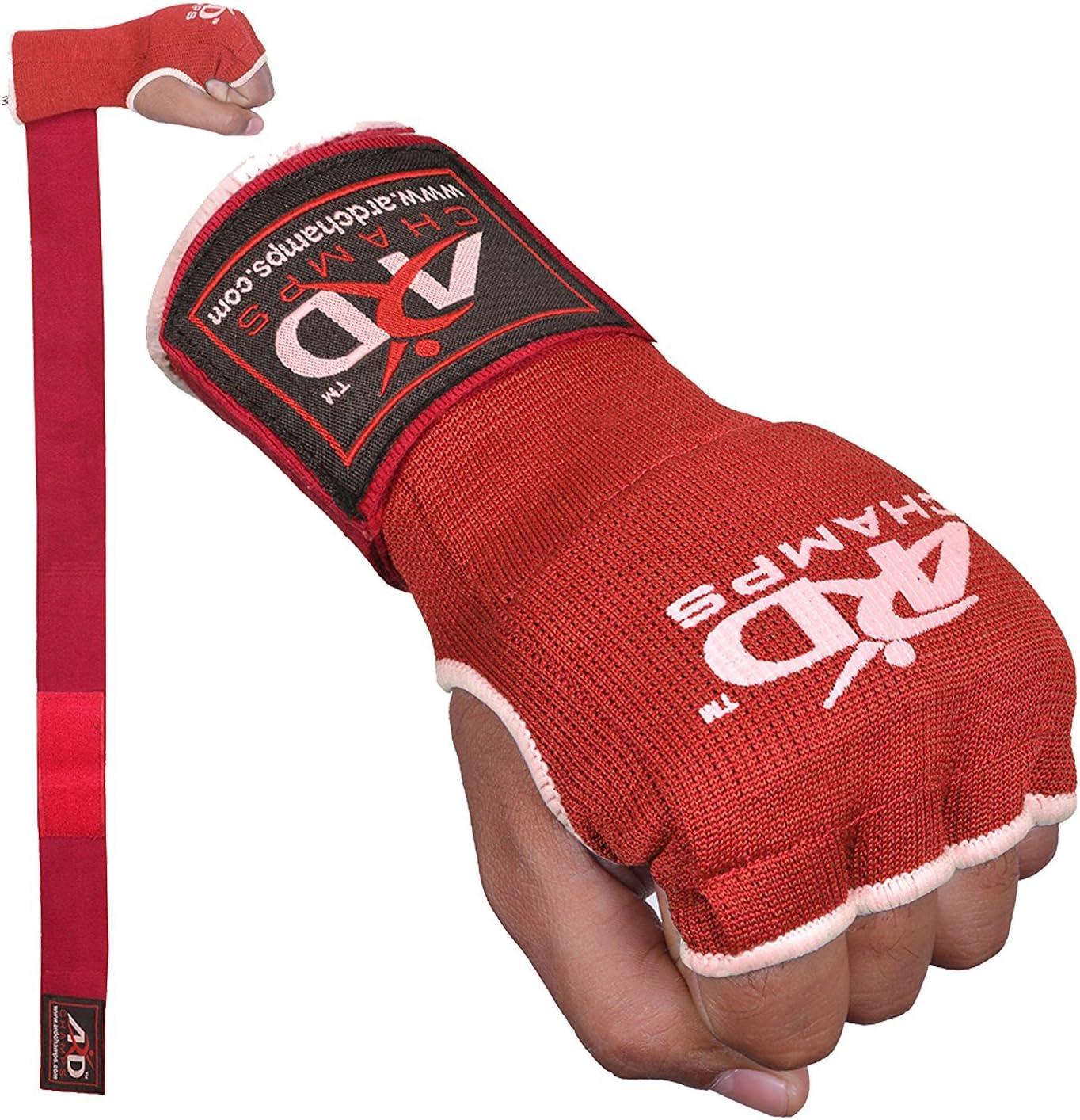 Gel Slide On Inner Gloves//Hand Wraps MMA Muay Thai Boxing