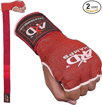Muay Thai de Farabi para ni/ños MMA gimnasio con gel interior; para boxeo Vendas de mano