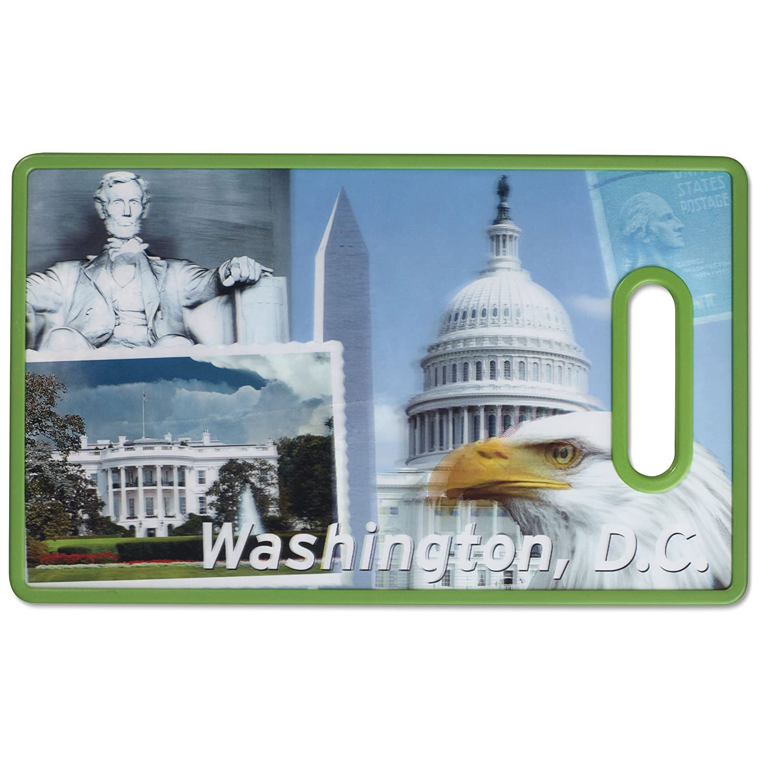 Cuisinart CCB-3DWAS 3-D City Collection Washington D.C. Cutting Board