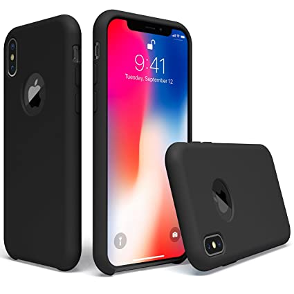 Amazon.com: UGT Funda para iPhone Xs, iPhone X de silicona ...