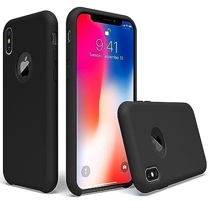 Amazon.com: UGT Funda para iPhone Xs, iPhone X de silicona ...