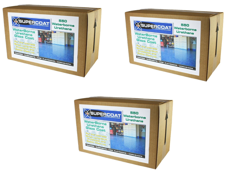 SUPERCOAT Waterborne Urethane Glaze Coat (3 pack)
