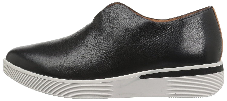Gentle Souls by Kenneth Cole Hanna Platform Slip ON Fashion Sneaker- Leather Shoe B071FMW5Y8 10 B(M) US|Black