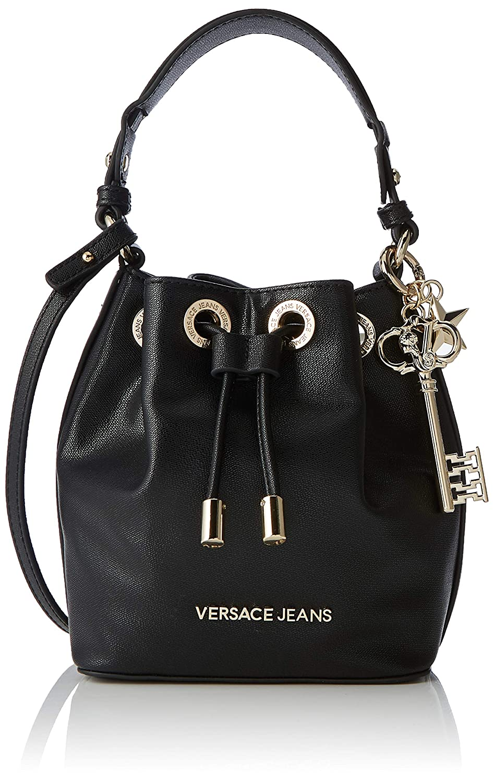 factory authentic bottom price big discount of 2019 Amazon.com: Versace Black Small Bucket Bag-EE1VTBBN5 E899 ...
