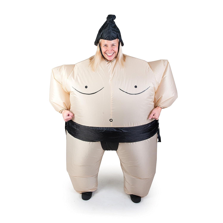Costume de Sumo Gonflable Déguisement Adulte Funtime Gifts PT8000SU