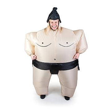 Costume de Sumo Gonflable Déguisement Adulte