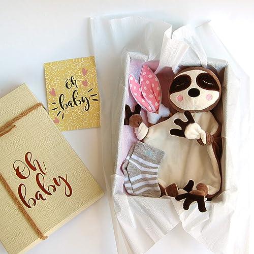 Amazon Com Baby Gift Box Sloth Baby Shower Gift Set For Boy Or Girl