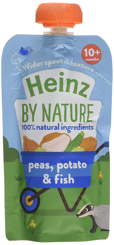 Heinz Fish Peas and Potato Pouch, 180 g (Pack of 5) The Kraft Heinz Company 76011050