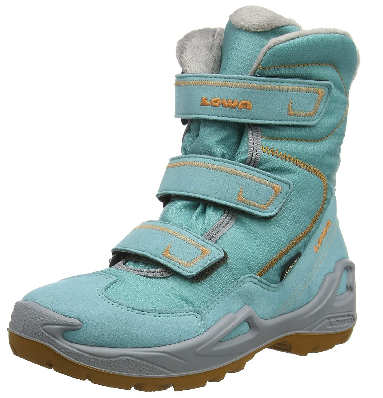 MultiCouleure (bleu Tangerine 6119) 34 EU Faiblea Milo GTX Hi, Chaussures d'escalade garçon