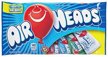 amazon com airheads candy variety bag individually wrapped