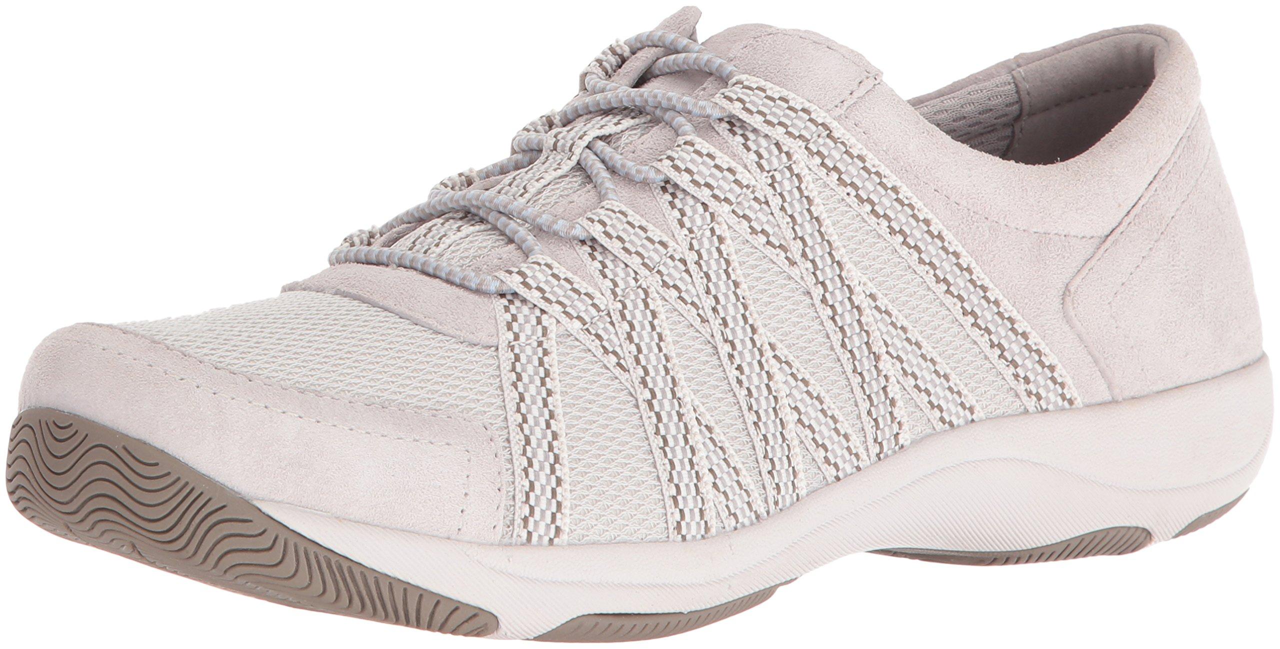 Dansko Women's Honor Fashion Sneaker, Ivory Suede, 36 EU/5.5-6 M US