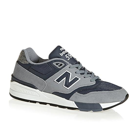 2new balance uomo 597 grigio